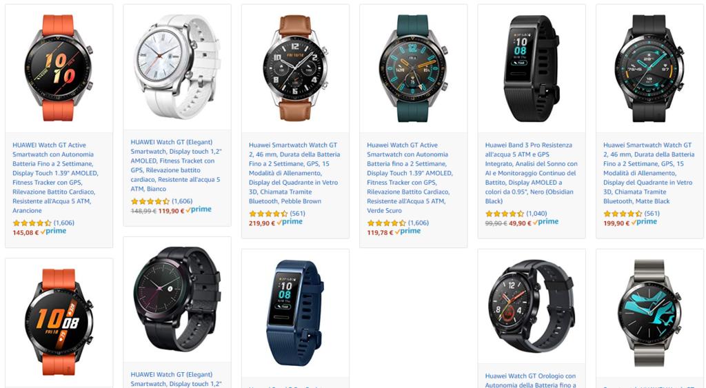 Sconti Amazon Smartwatch Huawei
