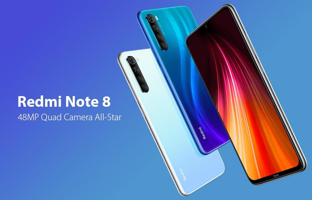 Redmi Note8 Colori vari