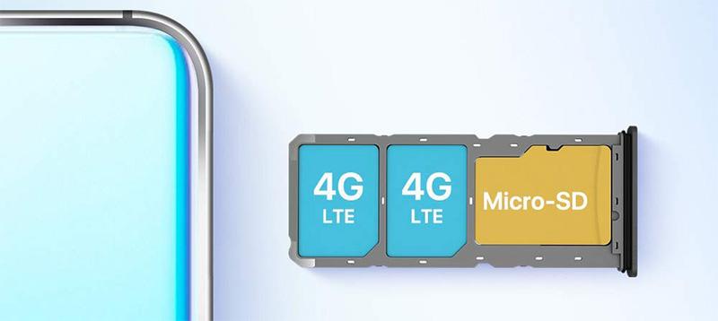 Umidigi A5Pro slot per 3 schede