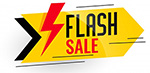 Flash Sale Logo Piccolo
