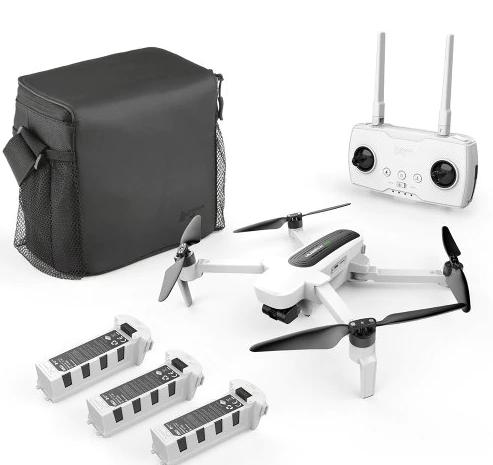 Offerta Drone Hubsan H117S Zino 3 batterie