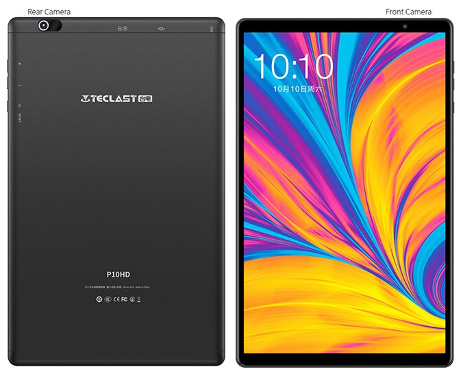 Teclast P10HD Tablet con Unisoc SC9863