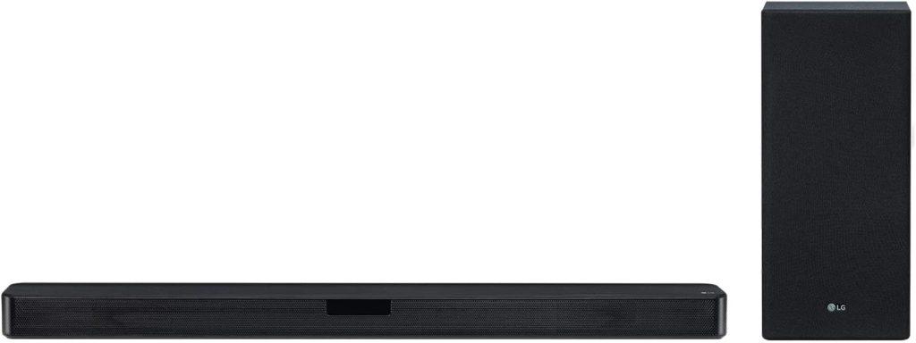 LG OLED con soundbar