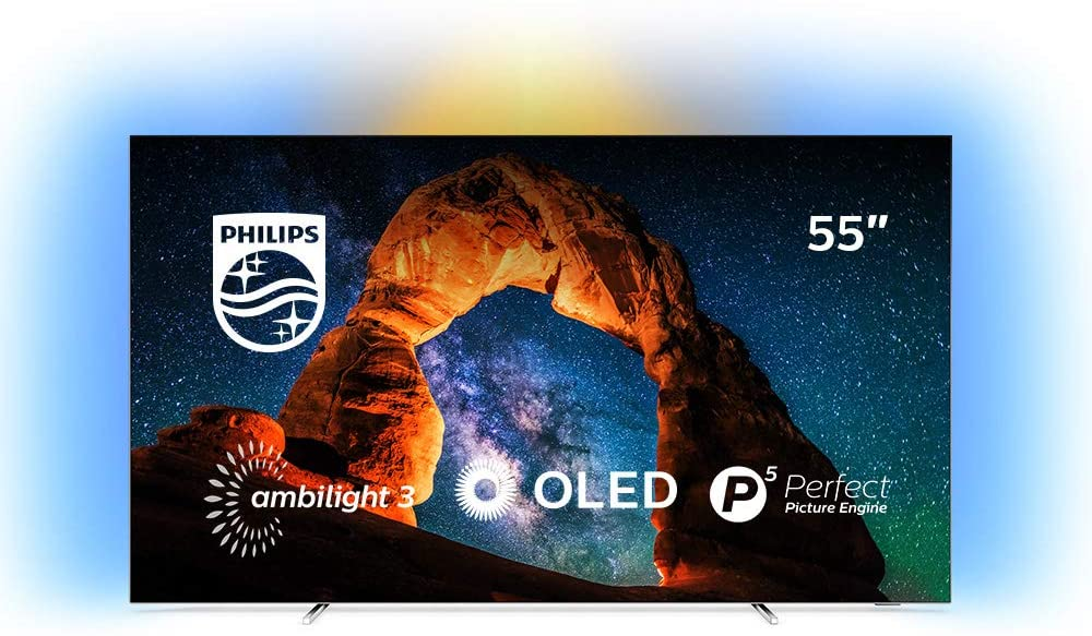 OLED Philips serie 803 Smart TV