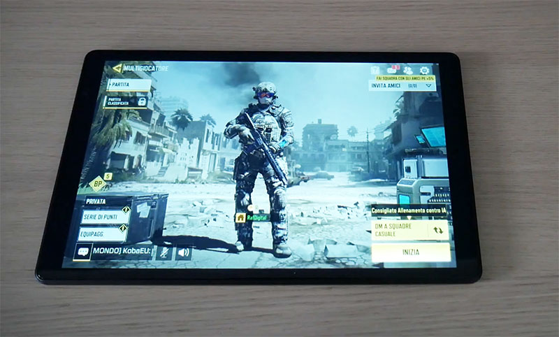 Teclast P10HD Tablet con Call of Duty Mobile
