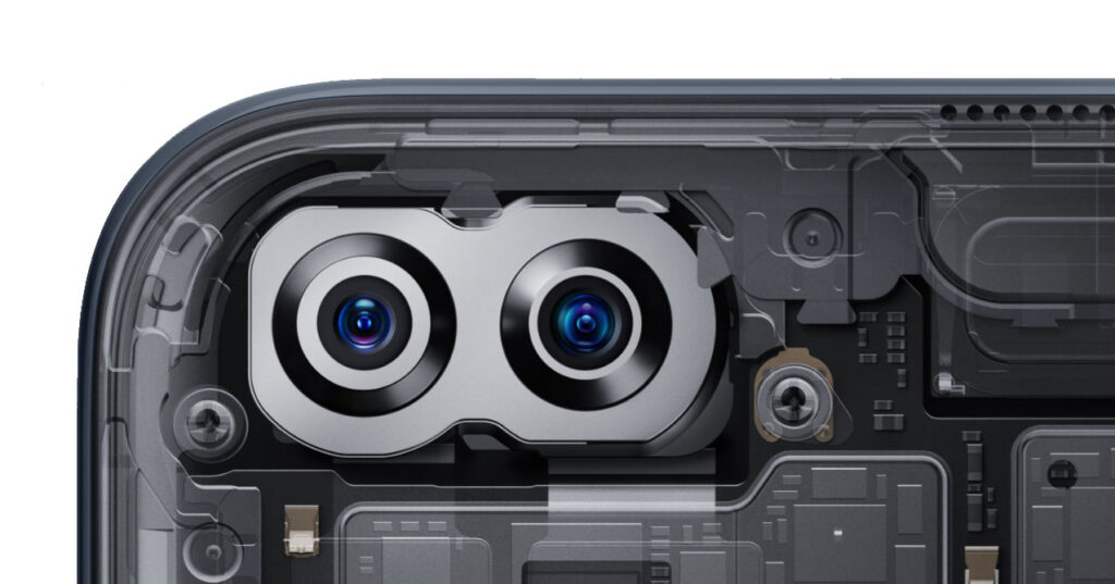 Smartphone OnePlus Nord videocamere frontali