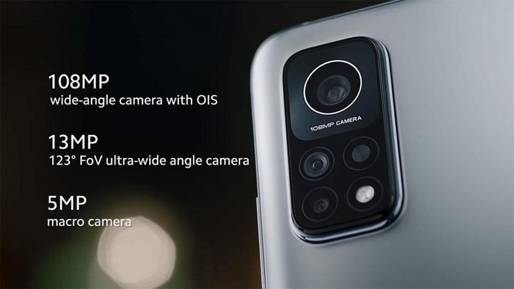 Smartphone Mi 10T Pro con fotocamera 108MP