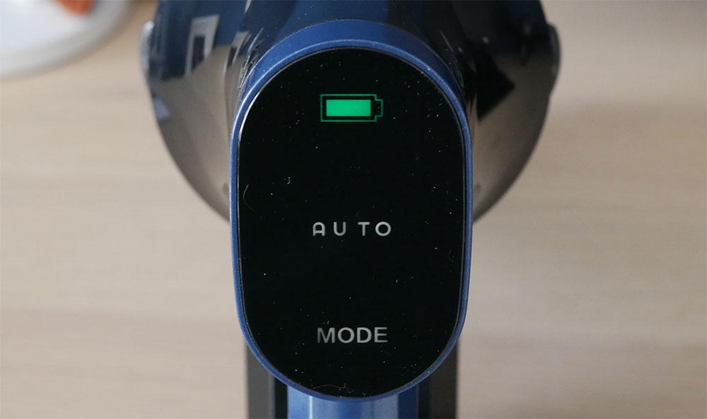 Proscenic P10 Pro display touch e velocità auto