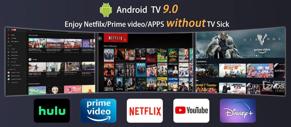 Proiettore con Android TV 9.0